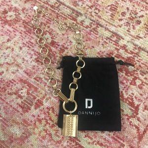 New DanniJo Elisa Gold Pendant Necklace